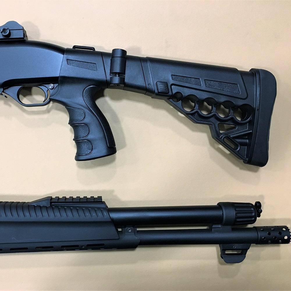 Nuovi fucili pompa tactical servoassistiti!